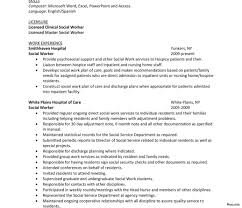 social worker resume template social worker resume sle work 44a no experience resumes