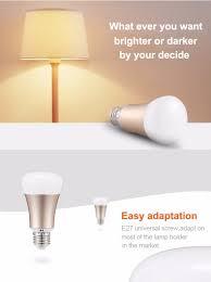 xenon wifi bulb works with amazon alexa smart home automation lamp