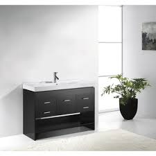 single sink console vanity 74 most peerless single sink console 36 inch white bathroom vanity