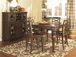 counter height dining table with leaf porter counter height dining set by ashley furniture