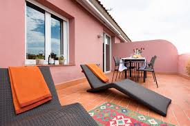 Orange Kettle And Toaster 2 Bedrooms Penthouse Apartments In Barcelona Mercedes Heritage