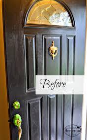 homeroad painting my front door yellow
