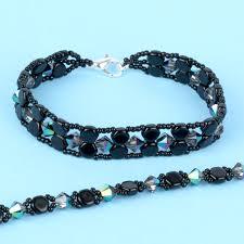 bracelet bead tutorials images Double hex honeycomb bracelets tutorial uncategorised blog jpg