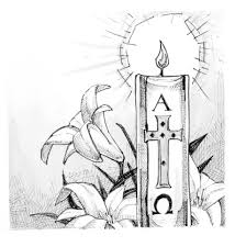 classic menorah coloring page candle lighting lighting the