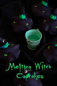 melting witch cupcakes not quite nigella