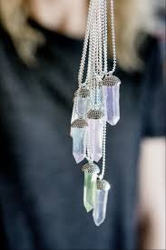 real crystals necklace images Thestudio by adtech glue stick crystal necklace who knew jpg