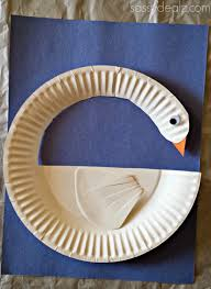 diy swan paper plate craft for kids paper plate crafts craft