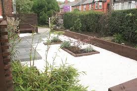 garden design railway sleepers railway sleeper transformation