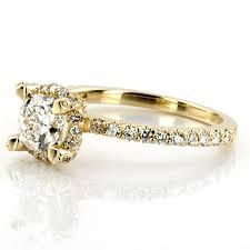 gold wedding rings for women women s yellow gold diamond rings wedding promise diamond