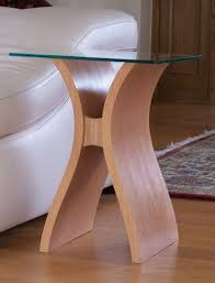 curved wood side table marco pair of wooden side tables wooden side table living room
