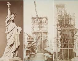 10 stunning old famous structures under construction pictures
