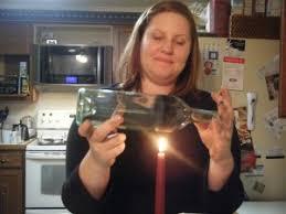Diy Wine Bottle Vases Miss D U0027orsay U0027s Diy How To Turn A Wine Bottle Into A Vase Or Votive