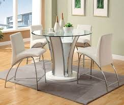 hillsdale cameron dining table counter height round dining table modern 48 glenview ii intended for