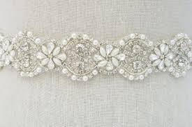 bridal sash bridal belt rhinestone bridal sash beaded bridal belt