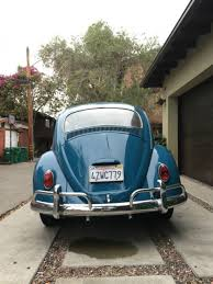 volkswagen beetle classic coupe 1965 blue for sale xfgiven vin