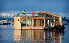 Floating Home Floor Plans Floating Houses That Will Convince You To Trade Ground For Water