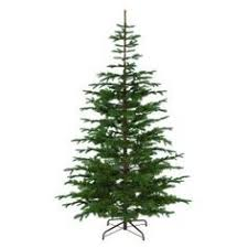 8 hx72 w layered noble fir smart lighted artificial tree
