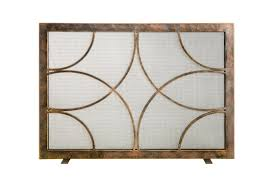 fireplace screens ornamental designs