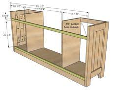 ana white build a planked wood sideboard free and easy diy