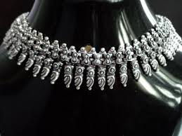 metal necklace designs images Oxidized white metal necklace at rs 10000 kilogram s metal jpg