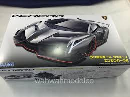 Lamborghini Veneno Engine - fujimi 125923 124 rs 94 lamborghini veneno wengine