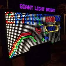 light display los angeles party pals is the largest special event party and game rentals