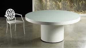 White Lacquer Dining Table by Barrett 71 Dining Table Zuri Furniture