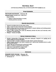 Resume Sles For Cashier Cashier Resume How To Write 16 Exles
