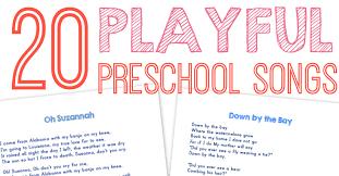 preschool thanksgiving song 20 best preschool songs free printable wildflower ramblings