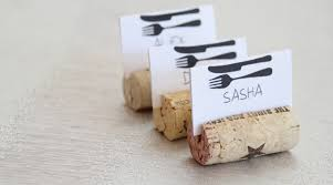 diy table number holders 11 diy wine cork place card holders guide patterns