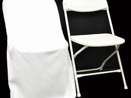 white folding chair covers 2 lovely chair covers for folding chairs