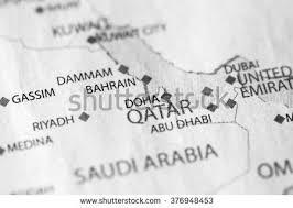 doha qatar map doha map stock images royalty free images vectors