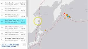 Map Of Aleutian Islands Kamchatka Volcano M7 7 Earthquake Alaska U0027s Aleutian Islands Youtube