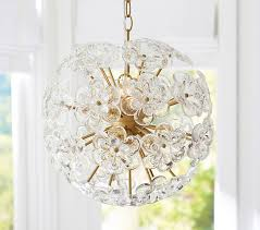 Pottery Barn Ceiling Light Flower Pop Chandelier Pottery Barn