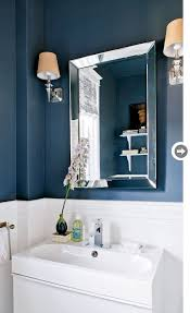 Navy Bathroom Accessories by Navy Blue Bathroom Contemporary Bathroom Style At Home Navy And