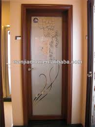Frosted Glass Bathroom Doors by Interior Frosted Glass Bathroom Door Aluminium Glass Double Entry