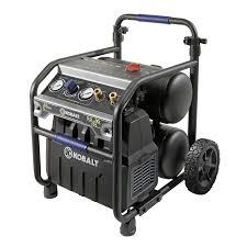 shop kobalt 5 gallon portable 175 psi electric twin stack air