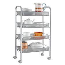 172 best bar carts images amazon com langria 4 tier gap kitchen storage slim slide out