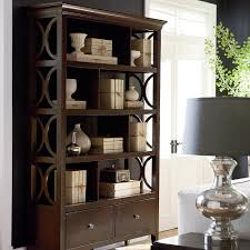 furniture glamorous bookshelf room divider with white french door