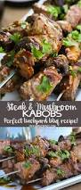 easy beef u0026 mushroom kabobs that are perfect for a backyard bbq