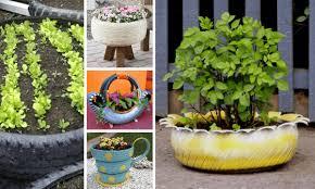 como hacer macetas con llantas recicladas paso a paso neumáticos reciclados 20 ideas para maceteros de jardín diario