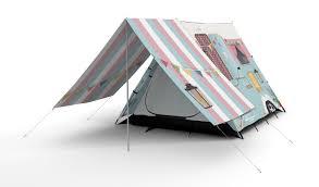 shabby chic caravan design camping tent u0026 canopy