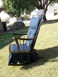 Craigslist Furniture Okc by Antique Platform Glider Rocking Chair Downtown Oklahoma City