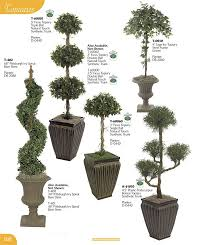 Laurel Topiary - artificial flowering plants silk floral stems