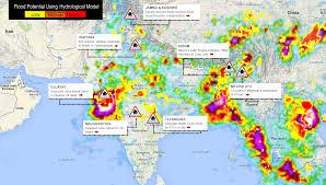 Gujarat India Map by Flood Fury