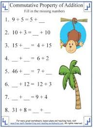 addition properties worksheets free worksheets library download