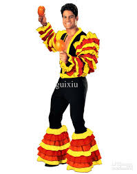 Halloween Costumes Mexican Halloween Costumes Men U0027s Deluxe Calypso Man Costume