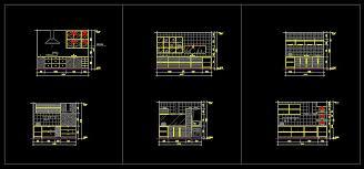 interior layout dwg kitchen brilliant autocad kitchen blocks in free cabinet cad