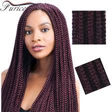 extention braid hairstyles wholesale box braid hair crochet hair extensions 24 inches long