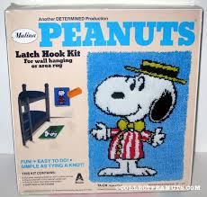 Latch Hook Rugs For Sale Peanuts Latch Hook Kits Collectpeanuts Com